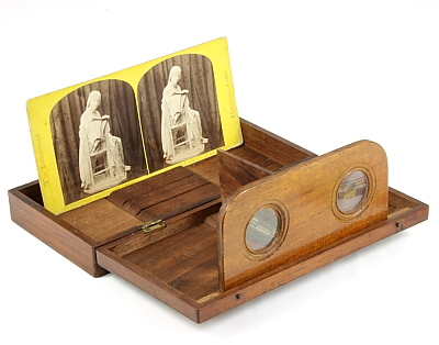 19th Century Stereo Viewer