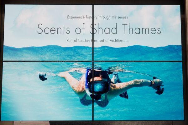 Screenshot from VR experience Scents of Shad Thames